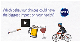 Which behaviour choices could have the biggest impact on your health?