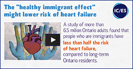 "The ""healthy immigrant effect"" might lower risk of heart failure"