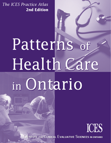 Patterns of Health Care in Ontario, 2nd edition