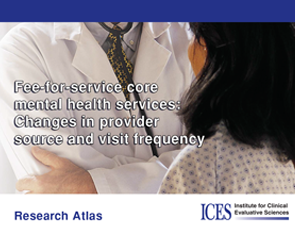 Fee-for-Service Core Mental Health Services: Changes in Provider Source and Visit Frequency