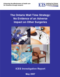The Ontario Wait Time Strategy: No Evidence of an Adverse Impact on Other Surgeries