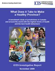 What does it take to make a healthy province? A benchmark study of jurisdictions in Canada and around the world with the highest levels of health and the best health behaviours