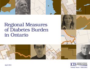 Regional Measures of Diabetes Burden in Ontario