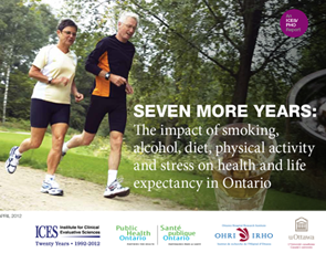 Seven More Years: The Impact of Smoking, Alcohol, Diet, Physical Activity and Stress on Health and Life Expectancy in Ontario