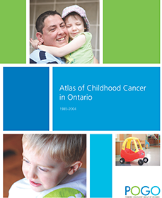 POGO Atlas of Childhood Cancer in Ontario cover