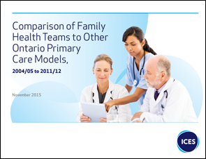 Comparison of Family Health Teams to Other Primary Care