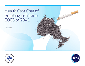 Health Care Cost of Smoking in Ontario, 2003 to 2041