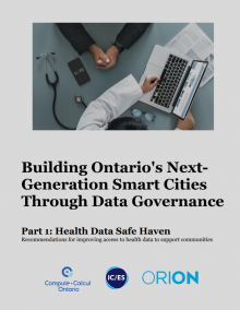 Building Ontario's Next-Generation Smart Cities Through Data Governance