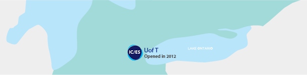 ICES UofT Location map