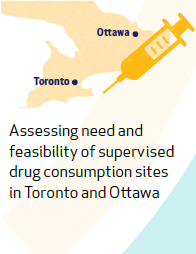 Assessing need and feasability of supervised drug consumption sites in Ottawa and Ontario