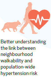 Better understanding the link between neighbourhood walkability and population-wide hypertension risk