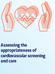 Assessing the appropriateness of cardiovascular screening and care