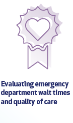 Evaluating emergency department wait times and quality of care