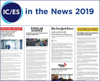 ICES in the News 2019 media banner