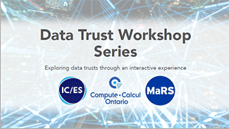 Data Trust Workshop Series Report Cover