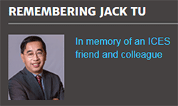 Remembering Jack Tu: In memory of an ICES friend and colleague